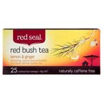Red Seal Red Bush Tea Bags Lemon & Ginger 45g 25pk