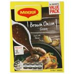Maggi Instant Gravy Mix Brown Onion sachets 3pk