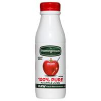 Homegrown Chilled Juice Apple single bottle 400ml