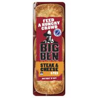 Big Ben Fresh Pie 6pk Steak & Cheese 960g