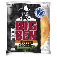 Big Ben Xxl Fresh Pie Single Butter Chicken 210g
