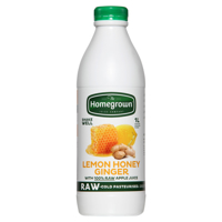 Homegrown Chilled Juice Lemon Honey & Ginger 1l