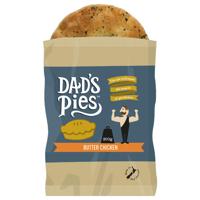 Dad's Pies Fresh Pie Single Butter Chicken 200g