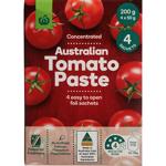 Countdown Tomato Paste Sachets 4pk 200g