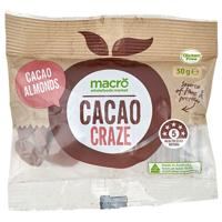 Macro Gluten Free Snack Mix Cacao Almonds 30g