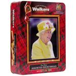 Walkers The Queen Shortbread tin 150g