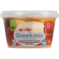 Countdown Antipasto Greek Mix 200g