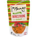 Pitango Organic Fresh Soup Minestrone pouch 500g