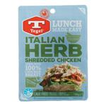 Tegel Chicken Shredded Italian Herb prepacked 100g