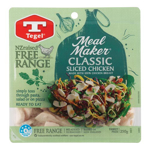 Tegel Meal Maker Free Range Chicken Sliced 250g