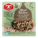Tegel Meal Maker Free Range Chicken Shredded Cracked Pepper 250g