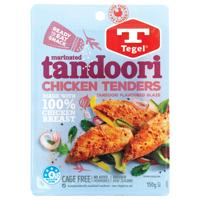 Tegel Chicken Tenders Tandoori 150g