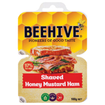 Beehive Ham Shaved Honey Mustard 2 x 50g packs 100g
