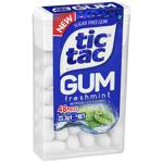 Tic Tac Chewing Gum Fresh Mint 23.3g