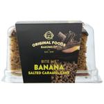 Original Foods Cake Banana Salted Caramel single slice