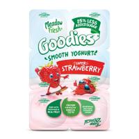 Meadow Fresh Goodies Yoghurt 12pk Strawberry 100g pottles 1200g