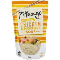 Pitango Free Range Fresh Soup Chicken & Noodle pouch 500g
