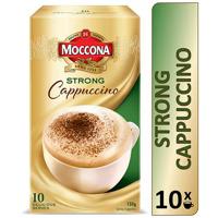 Moccona Cafe Classics Coffee Mix Strong Cappuccino 150g box 10 sachets