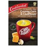Continental Cup A Soup Instant Soup Corn Cauli Turmeric 4 serves 96g