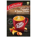 Continental Cup A Soup Instant Soup Pumpkin, Sweet Potato & Chia 4 serves 96g