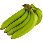 Produce Green Bananas 1kg