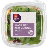 Pams Superfoods Black Rice And Quinoa Salad 400g