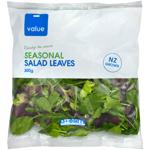 Value Seasonal Salad Leaves 300g