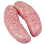 Butchery Irish Smokey Bacon English Sausages 1kg