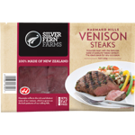 Silver Fern Farms Haumako Hills Venison Steaks 220g