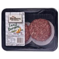 Hellers Lamb Burgers 400g