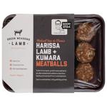 Green Meadows Harissa Lamb + Kumara Meatballs 400g