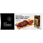 Pams Finest Slow Cooked Southern Style BBQ Pork Ribs 600g