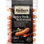 Hellers Spicy Pork Bratwurst Sausages 700g