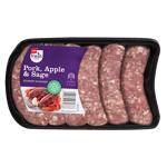 Pams Pork Apple & Sage Gourmet Sausages 480g