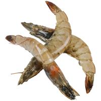 Seafood Whole Raw Vannamei Prawns (Prefrozen) 1kg