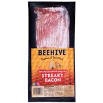 Beehive Streaky Bacon 250g