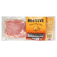 Beehive Rindless Eye Bacon 250g