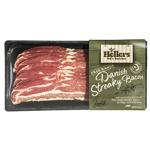 Hellers Free Range Danish Streaky Bacon 250g