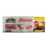 Farmland European Streaky Thin Sliced Bacon The Weekender 500g