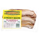 Henderson's Streaky Bacon 1kg