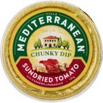 Mediterranean Sundried Tomato & Cashews & Parmesan Chunky Dip 135g