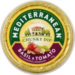 Mediterranean Basil & Tomato With Cashews & Parmesan Chunky Dip 135g