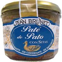 Jean Brunet Duck With Mushroom Pate 180g