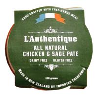 L'Authentique Chicken & Sage Pate 120g