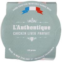 L'Authentique Chicken Liver Parfait 120g