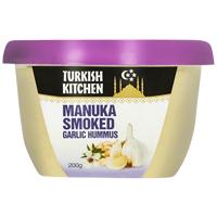 Turkish Kitchen Manuka Smoked Garlic Hummus 200g