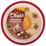 Obela Savoury Garlic Hommus 220g