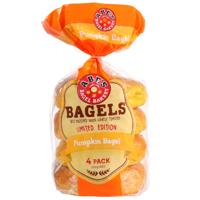 Abe's Pumpkin Bagels 360g