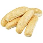 Bakery Sesame Seed Long Rolls 6ea