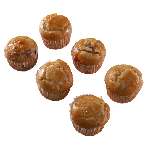 Bakery Blueberry Muffins 6ea
